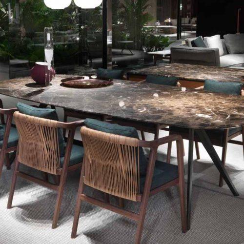 Satariano-Furniture-Flexform-Modern-Sitting-brown-marble-table