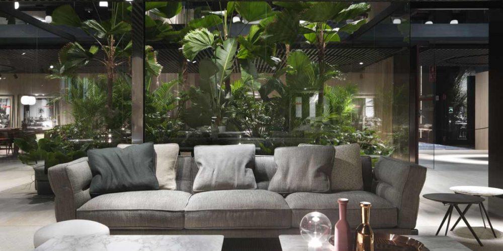 Satariano-Furniture-Flexform-Sitting-Contemporary-medium-sized-textured-grey-sofa