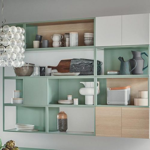 Satariano-Furniture-NovaMobili-Contemporary-Living-wall-unit-mint-sand-and-white
