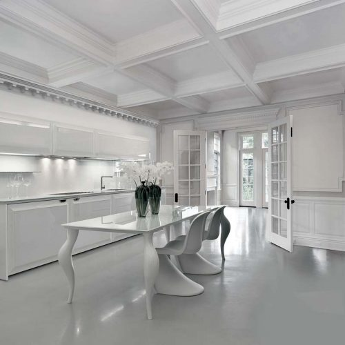 Satariano-Furniture-SCIC-Classic-Dining-white-kitchen-gloss-cupboard-inner-lighting