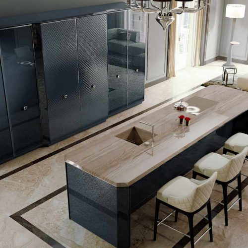 Satariano-Furniture-SCIC-Classic-Kitchen-navy-with-wood-effect-topping-open-plan-bar