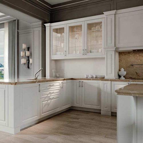 Satariano-Furniture-SCIC-Classic-Kitchen-wooden-white-with-beige-marble-top