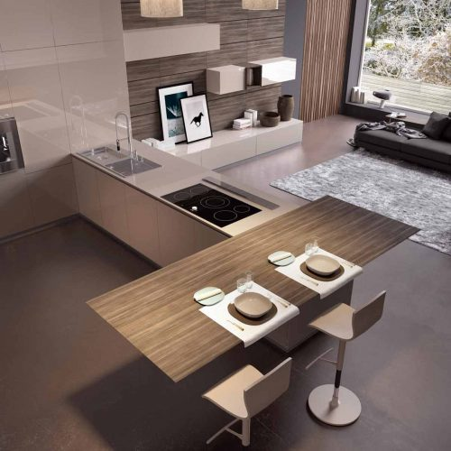 Satariano-Furniture-SCIC-Contemporary-Kitchen-open-plan-beige-and-sand-wood