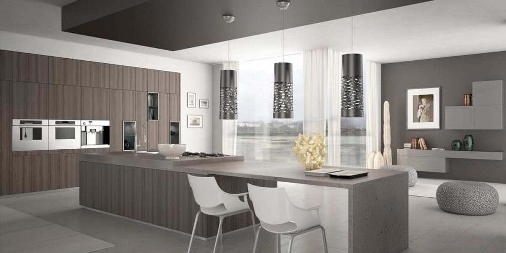 Satariano-Furniture-SCIC-Contemporary-Kitchen-open-plan-grey-wood-and-corian-finish