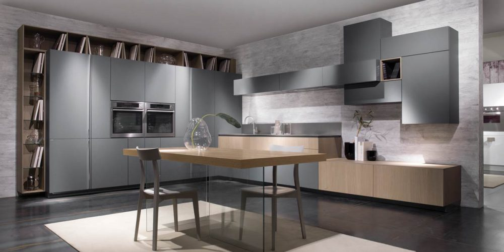 Satariano-Furniture-SCIC-Modern-Kitchen-open-plan-grey-with-sand-wood