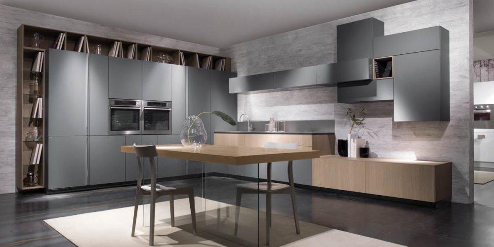 Satariano-Furniture-SCIC-Modern-Kitchen-open-plan-grey-with-sand-wood