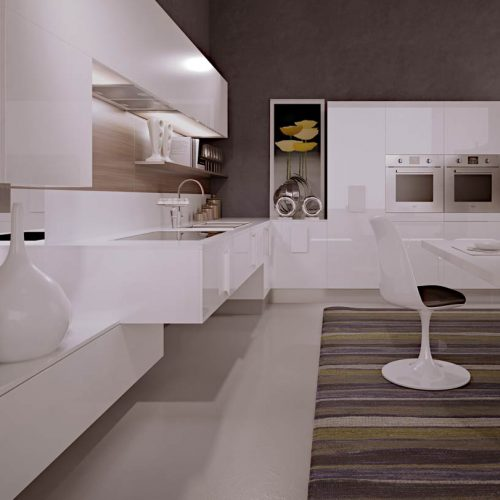 Satariano-Furniture-SCIC-Modern-Kitchen-open-plan-white-high-gloss-finish