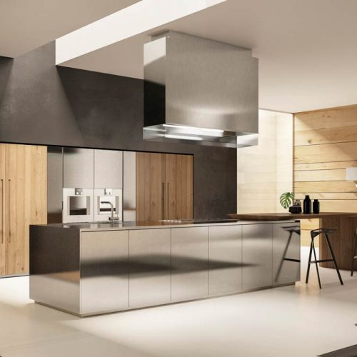 Satariano-Furniture-SCIC-Modern-Kitchen-open-plan-wood-and-metal-combination