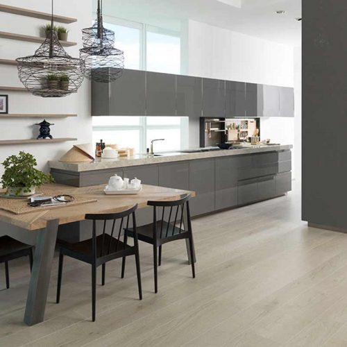 Satariano-Gamadecor-Kitchen-Modern-igh-gloss-grey-finish-with-light-beige-surface