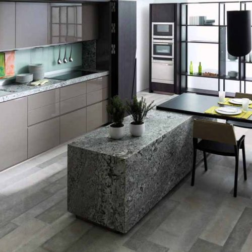 Satariano-Gamadecor-Kitchen-Modern-wall-unit-with-marble-textured-bar-island