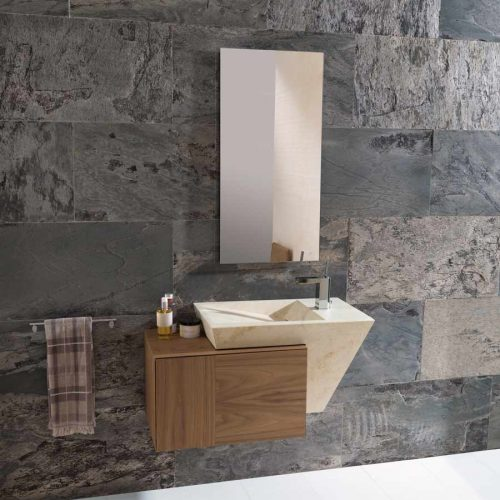 Satariano-L-Antic-Colonial-Bathroom-Contemporary-beige-sink-and-wooden-storage-unit