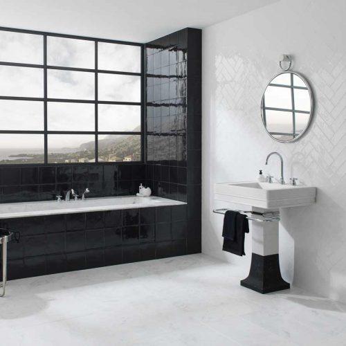 Satariano-L-Antic-Colonial-Bathroom-Contemporary-monochrome-bathroom