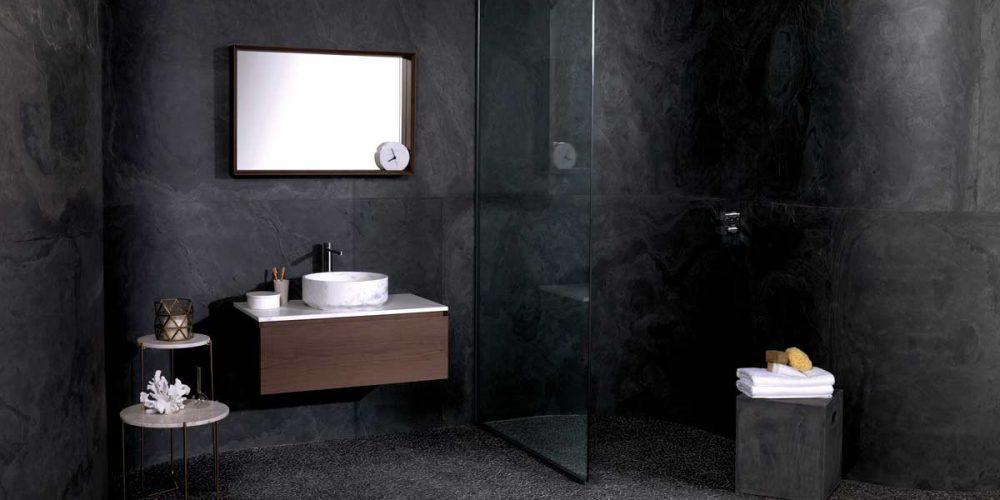 Satariano-L-Antic-Colonial-Bathroom-Modern-dark-grey-walls