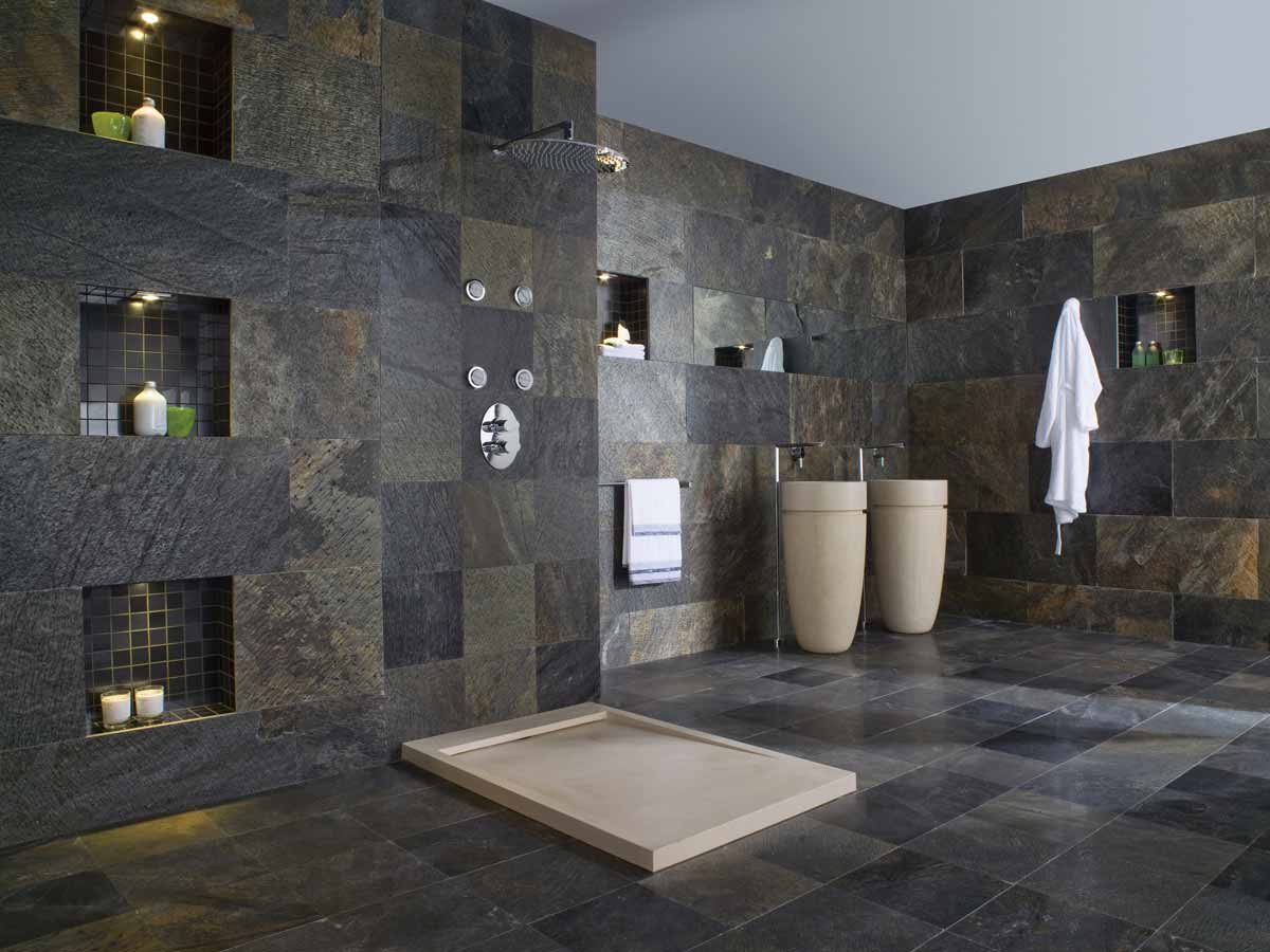 Satariano L Antic Colonial Bathroom Modern Multi Coloured