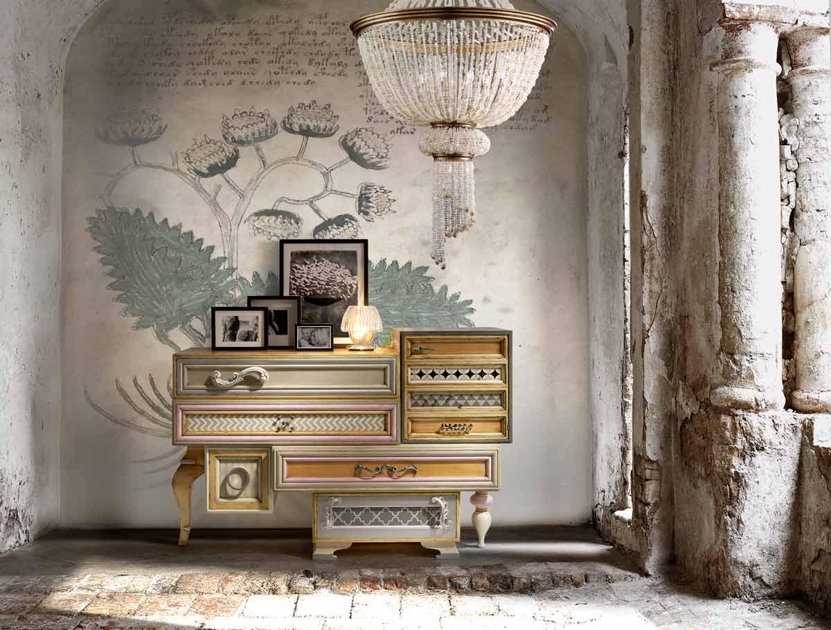 Satariano living room lola glamour classic design living - Lola glamour ...