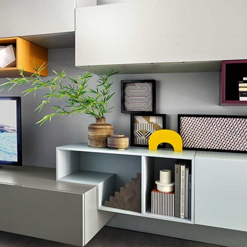 Satariano-Living-San-Giacomo-Modern-grey-light-blue-and-white-shelving-with-tv-unit