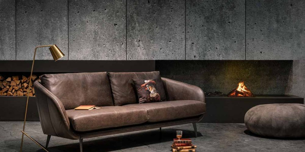 Satariano-Living-and-Dining-Contemporary-Furinova-dark-brown-two-seater-sofa