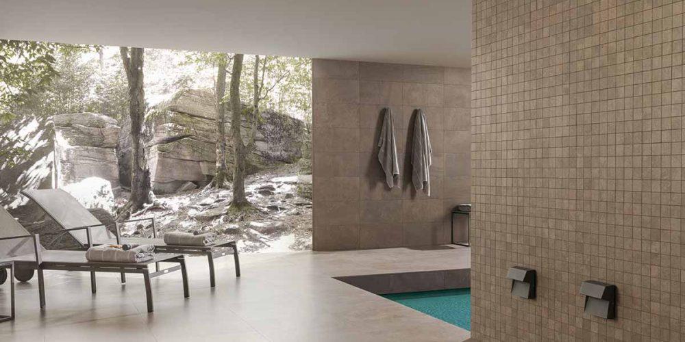 Satariano-Outdoor-Urbatek-Modern-brown-wall-tiling-beige-poolside-flooring