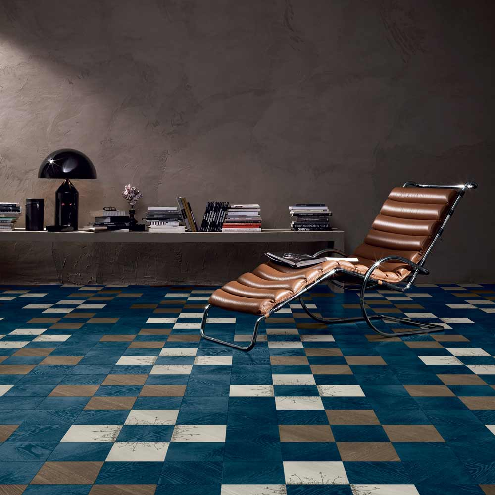 Satariano-Walls-and-Floors-Bisazza-blue-square-patternwiht-beige-and-brown