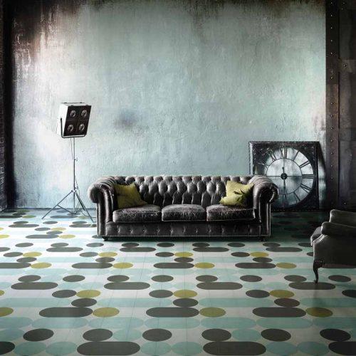 Satariano-Walls-and-Floors-Bisazza-circular-pattern-flooring