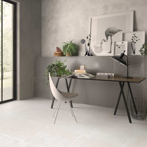 Satariano-Walls-and-Floors-Viva-Classic-beige-white-textured-tiles-and-grey-walls