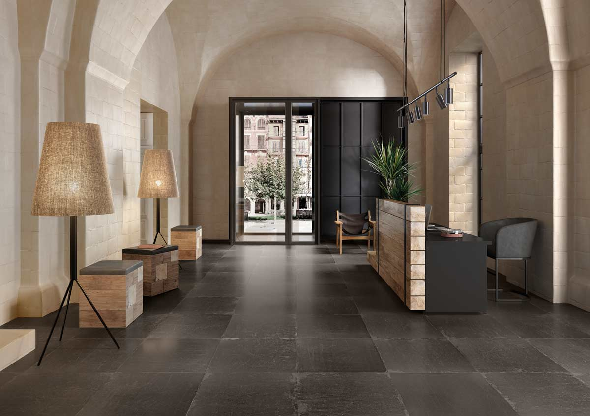 Satariano Walls And Floors Viva Contemporary Large Rectangle Grey