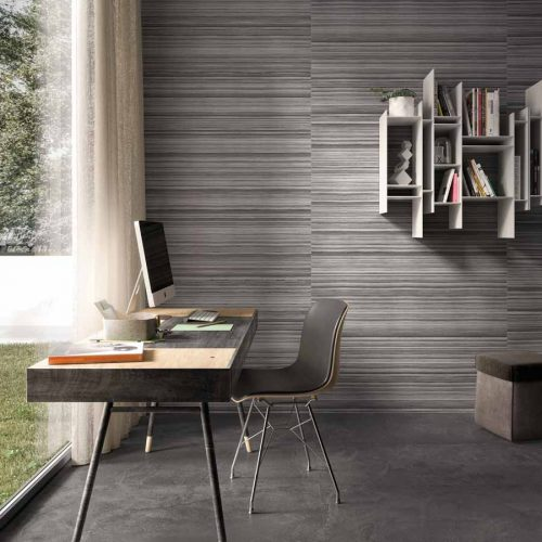 Satariano-Walls-and-Floors-Viva-Modern-large-grey-textured-square-tiles-and-feature-wall