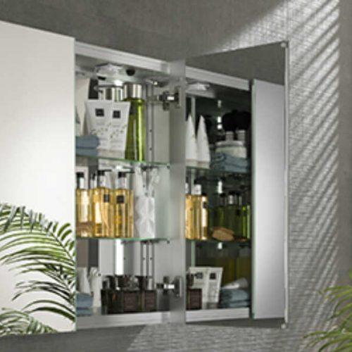 Satariano Bathooms Noken Modern mirror cabinet storage