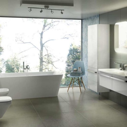 Satariano Bathrooms Ideal Standard Classic all white sanitary units
