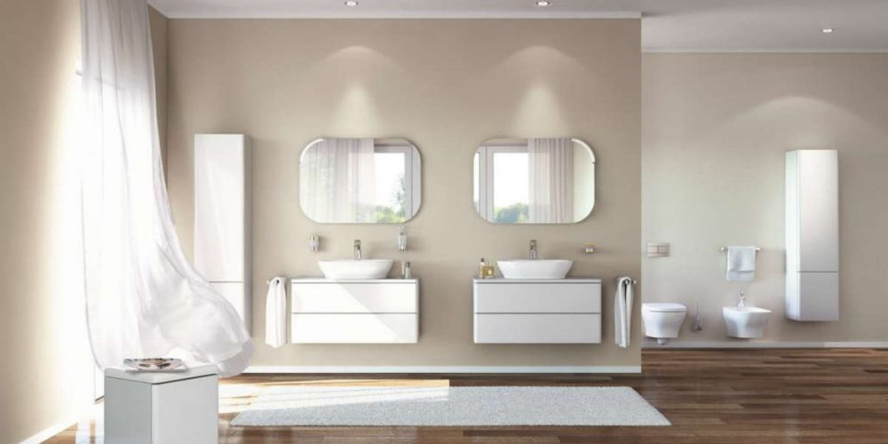 Satariano Bathrooms Ideal Standard Classic dual his and her sinks