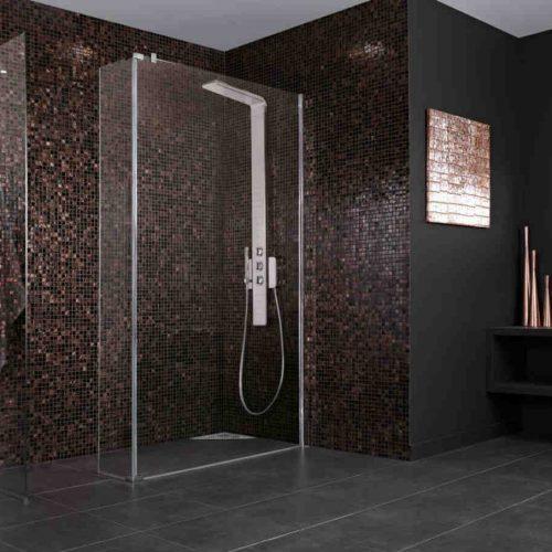 Satariano Bathrooms Ideal Standard Modern large rectangular shower head