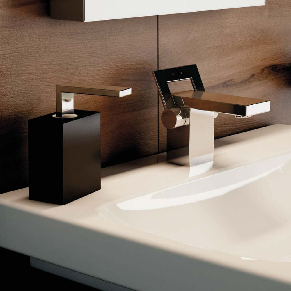 Satariano Bathrooms Ideal Standard Modern square fixtures and soap dispenser