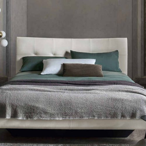 Satariano Bedrooms Poltrona Frau Contemporary beige bed