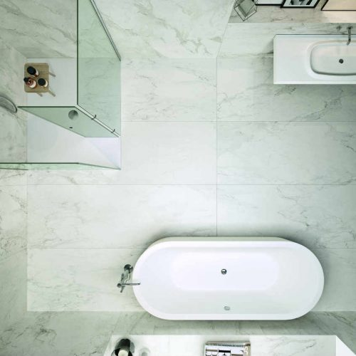 Satariano Floors and Walls Casa Dolce Casa Classic Bathroom marble with grey