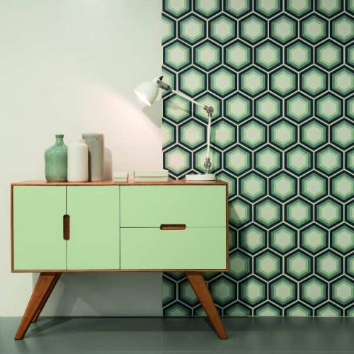 Satariano Floors and Walls Casa Dolce Casa Contemporary patterned feature wall