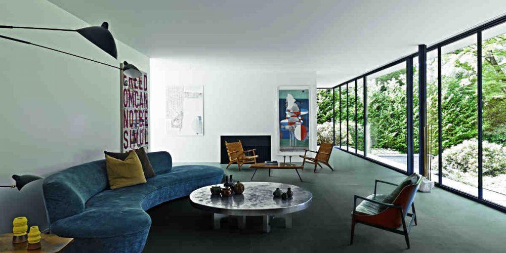 Satariano Floors and Walls Casa Dolce Casa Modern large grey textured tiling