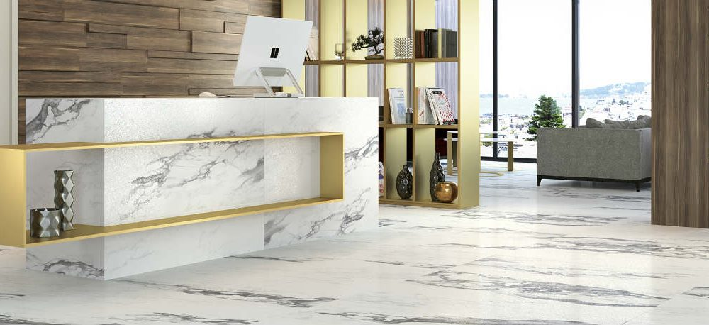 Satariano Floors and Walls Graniser Classic marble white and black