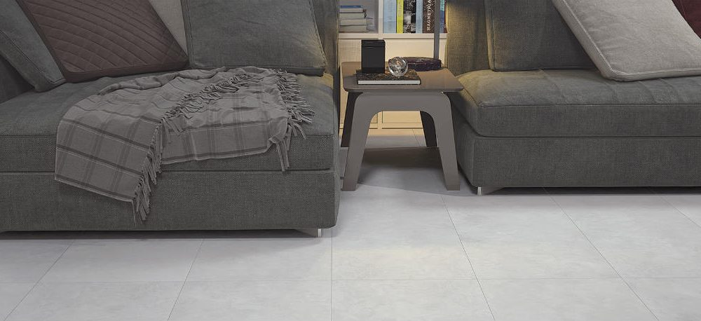 Satariano Floors and Walls Graniser Classic white square tiles