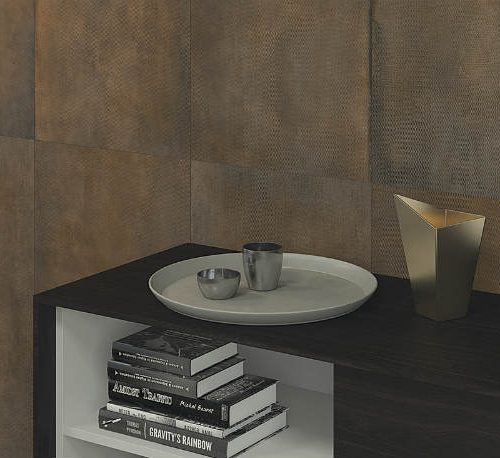 Satariano Floors and Walls Graniser Modern bronze wall tiling
