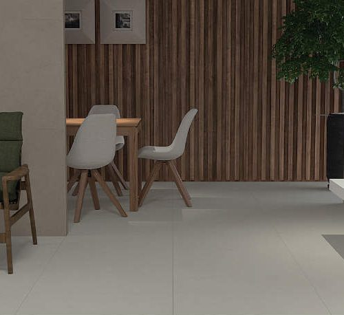 Satariano Floors and Walls Graniser Modern grey tiling and wooden panelling