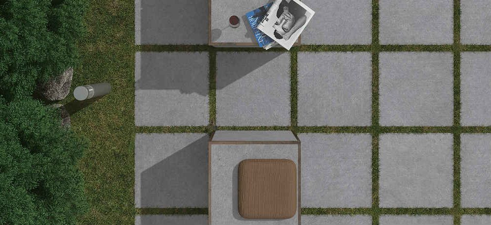 Satariano Floors and Walls Graniser Modern outside grey tiles
