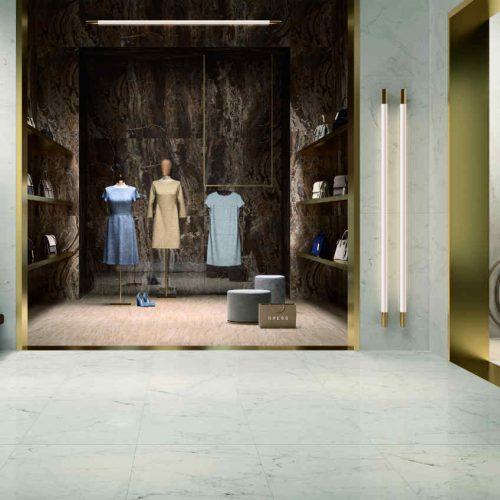 Satariano Floors and Walls Marazzi Classic marble finish