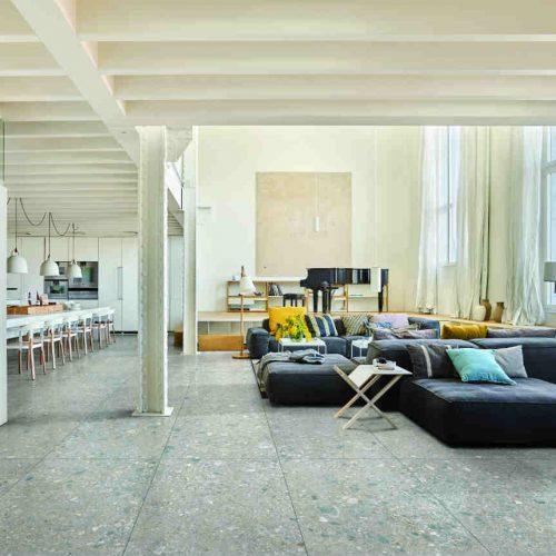 Satariano Floors and Walls Marazzi Modern grey tiling flooring