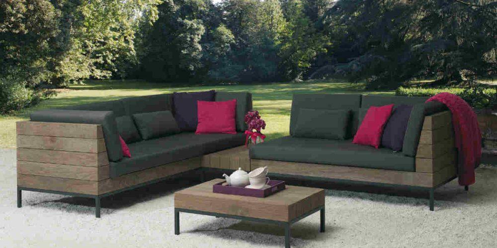 Satariano Outdoor and Spa Applebee dark lounge outside furniture