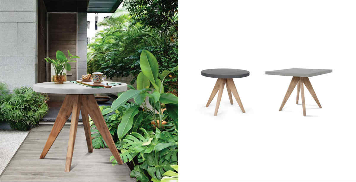 Satariano Outdoor And Spa Furniture Round Square Outside Tables