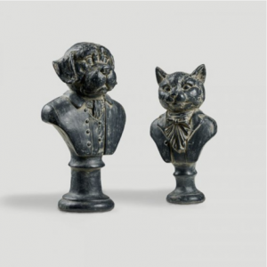 Satariano sculpture set of 2