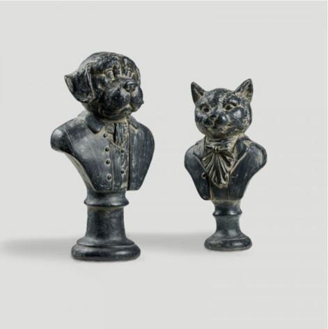 Satariano sculpture set of 2