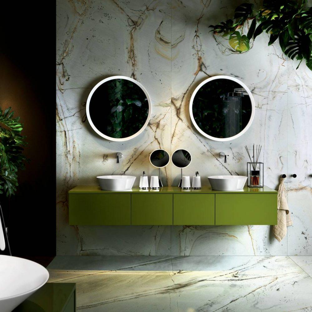 Gessi satariano bathrooms