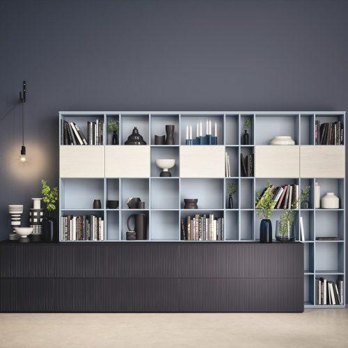 novamobili living wall unit satariano