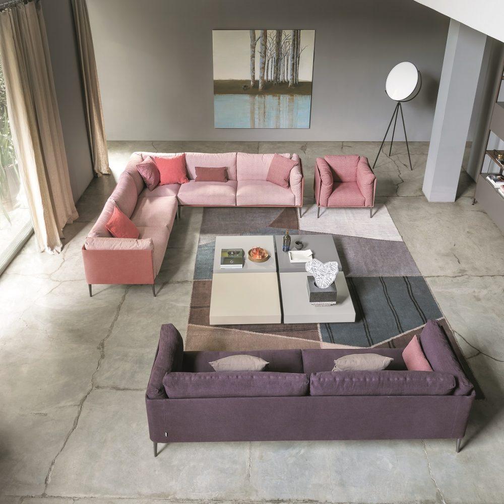 novamobili sofa living space satariano
